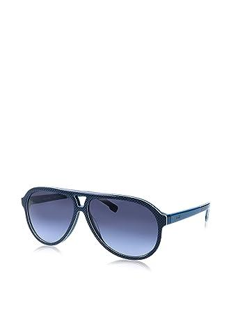 6c11e745a0a3 Lacoste L741S (424) Blue Sunglasses 59mm at Amazon Men s Clothing store