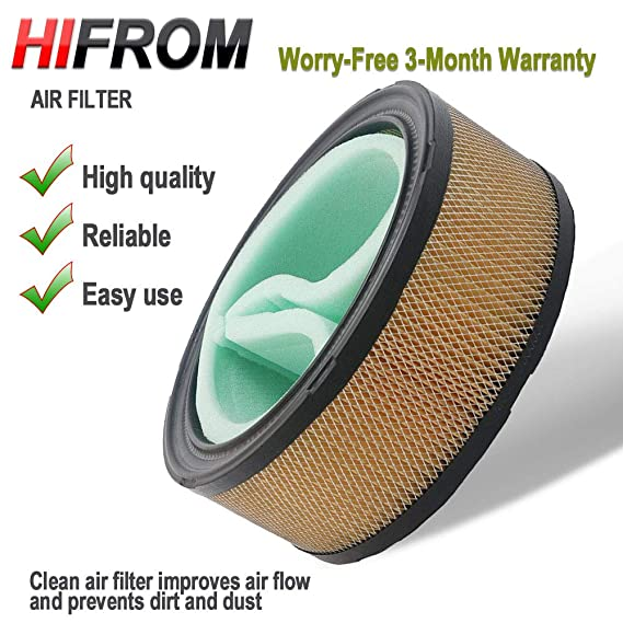 Amazon.com: hifrom (TM) sustituir Filtro de Aire Limpiador ...
