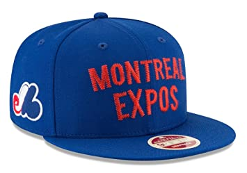 841fe02bfec Montreal Expos New Era 9FIFTY MLB Cooperstown  quot Team Thread quot  Snapback  Hat