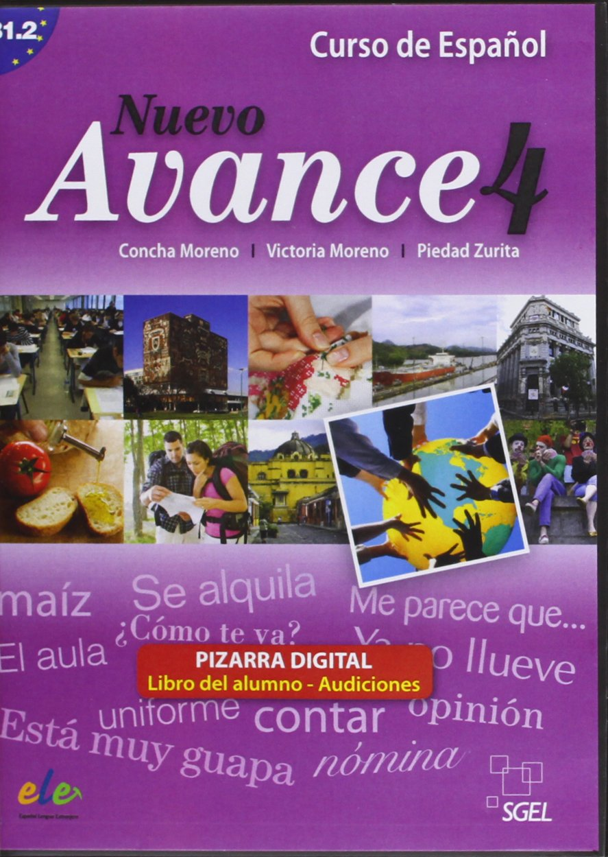 Nuevo Avance 4 Pizarra Digital (Interactive CD-Rom Software ...