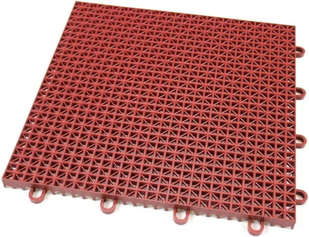 Amazon Com 16 Pack Outdoor Patio Flooring Interlocking Rugged