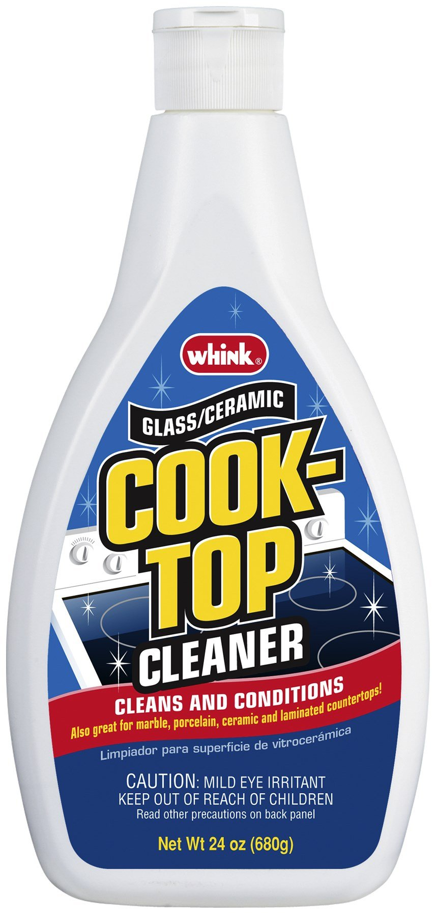 Whink Glass/Ceramic Cook-Top Cleaner, 24 Ounce (Pack of 6) by Whink