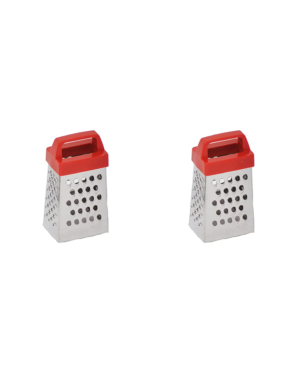HIC/'s Mini Garlic Grater 3 x 1.25-Inches 93194 Stainless Steel