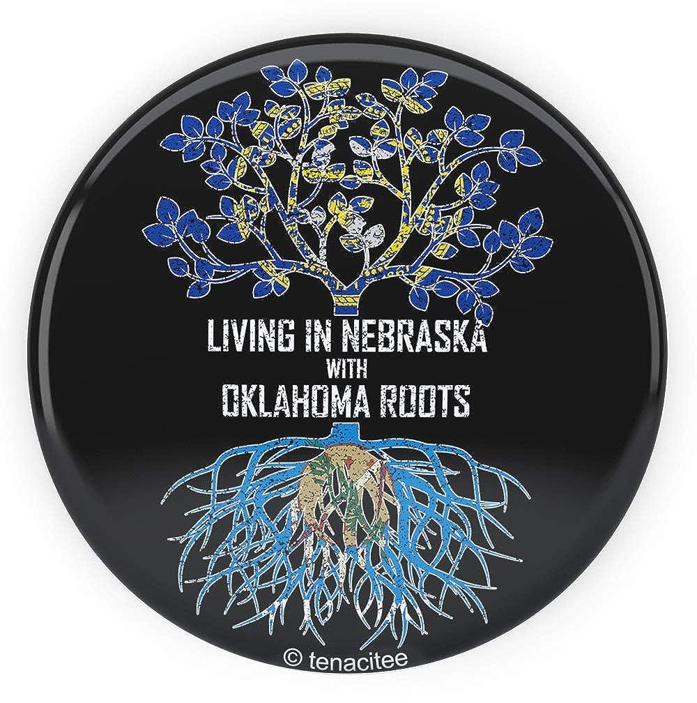 Tenacitee Babys Living in Nebraska Oklahoma Roots Shirt