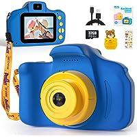 Peradix Cámara para Niños con 32GB TF, Camara Foto Niños, 1080P HD Selfie Video Cámara Infantil, Camara de Fotos para…