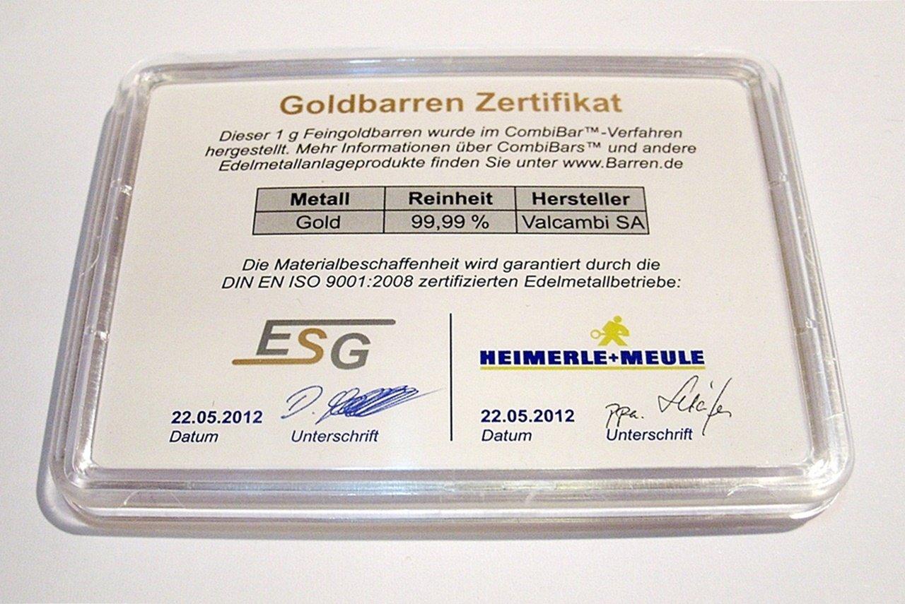 1g Goldbarren 999,9 FeinGold in Motivbox  Goldene Glückwünsche zur zur zur Bestandenen Prüfung  in edler Goldverpackung B01MXRPUQN | Neuankömmling  7649c1