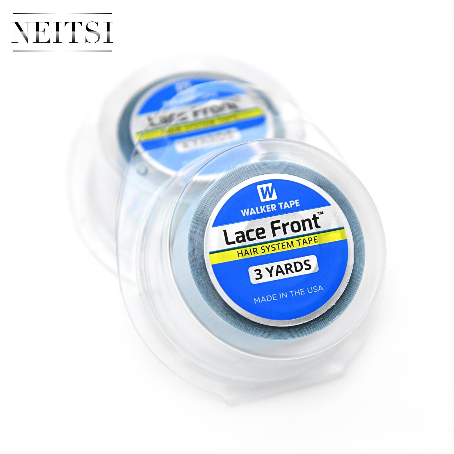 Neitsi 1Roll 3/4 x 3 Yard Roll Bonding Double Sided Tape Lace Front Roll for Hair Extensions Wigs LTD