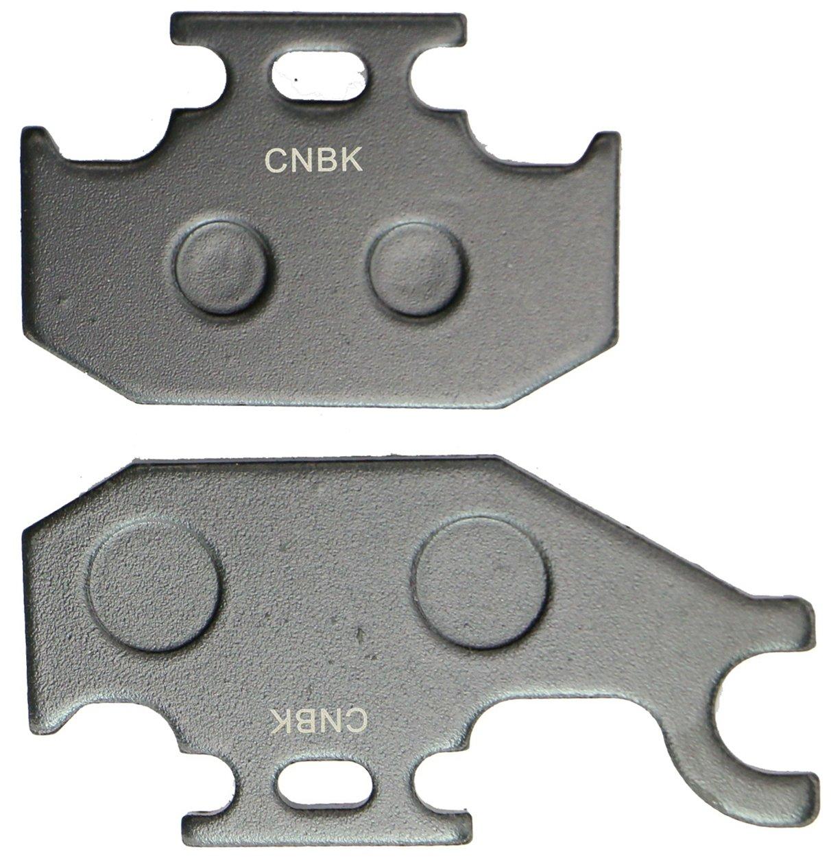 CNBK Carbon Brake Pads Set fit SUZUKI ATV Bike LT-A700 LT-A 700 cc 700cc King Quad 05 06 07 08 09 10 11 12 13 14 15 2005 2006 2007 2008 2009 2010 2011 2012 2013 2014 2015 4 Pads