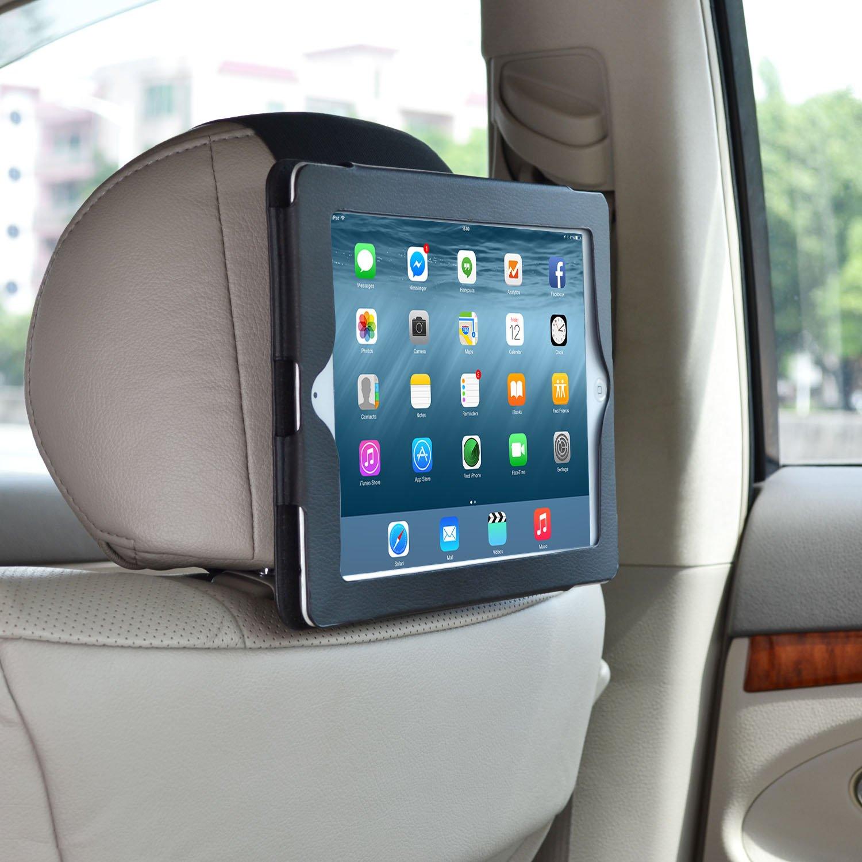 WANPOOL Car Headrest Mount Holder for iPad 2 / iPad 3 / iPad 4 WP-IPAD2MOUNT