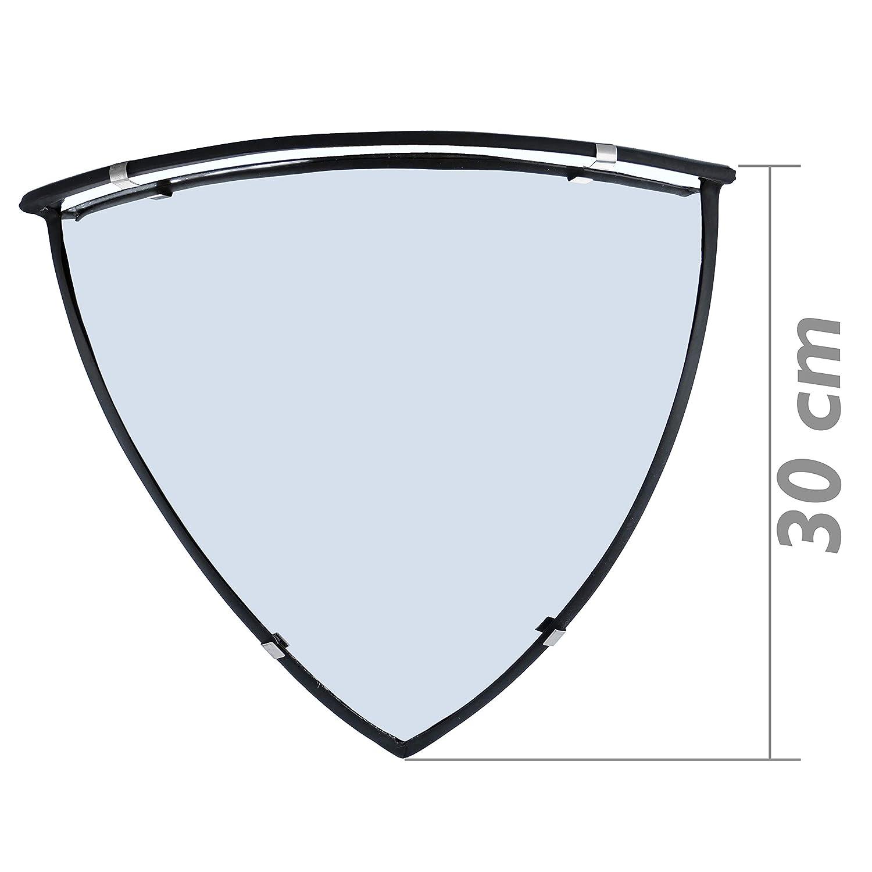 SQ087 PrimeMatik SQ087-VCES Miroir convexe de s/écurit/é et de surveillance de plafond semi-sph/érique 90/° 60 cm