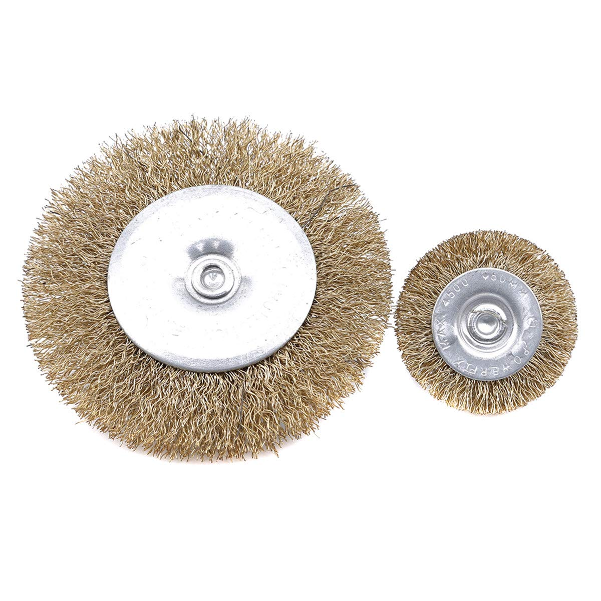 5cm*6 Beiswin 5pcs//10pcs Polishing Wire Wheel Brush Brushes for Rotary Drill Polishing Tool for Grinding Stainless Steel Tools