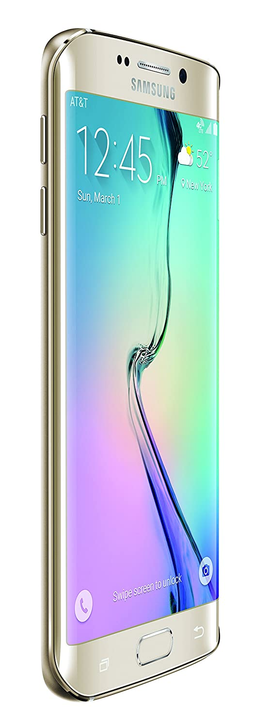 samsung s6 edge. amazon.com: samsung galaxy s6 edge, gold platinum 32gb (at\u0026t): cell phones \u0026 accessories edge