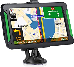Car GPS Navigation, Aonerex 7-inch HD Touch Screen, 8GB 256 Satellite Navigation, Real-time Voice Reminder, Speeding Warning, Route Planning, Free Lifetime Map Update (7 inches)