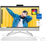 "HP 24 All-in-One PC, 11th Gen Intel i7-1165G7 Processor, 16 GB RAM, 512 GB SSD Storage, Full HD 23.8"" Touchscreen, Windows 10"