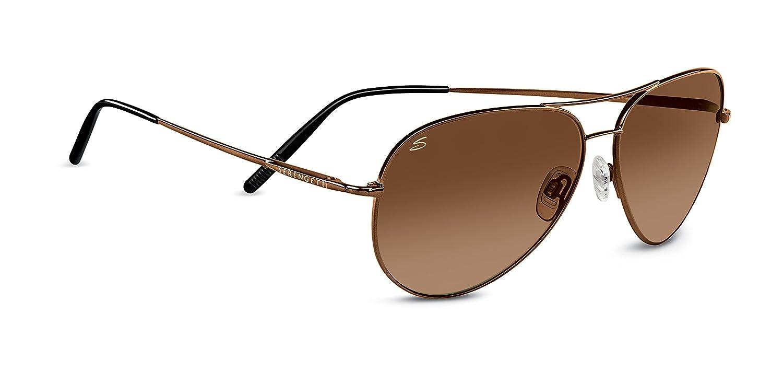 b9a648d485 Serengeti Medium Aviator Sunglasses - Drivers Gradient Bordeaux Drivers  Gradient Lens  Amazon.in  Clothing   Accessories
