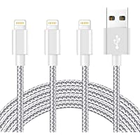 iPhone Charger [MFi Certified] 3Pack 10 FT Charging Cable Nylon Braided USB Charger Cord Compatible with iPhone 12/11/XS…