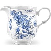Portmeirion Botanic Blue Porcelain Ceramic Formal Vintage Style Tableware Dishwasher & Microwave Safe White/Blue
