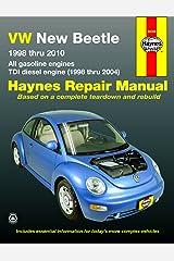 Volkswagen VW New Beetle 1.8 & 2.0L Gas (98-10) & 1.9L TDI Diesel (98-04) Haynes Paperback