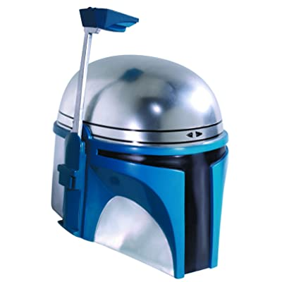 Supreme Edition One-Piece Jango Fett Helmet Costume Accessory: Toys & Games