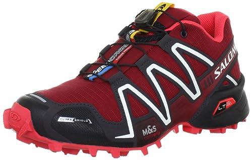 Salomon Speedcross 3 CS L30878600 - Zapatillas de deporte para mujer, Rojo, 39 1/3: Amazon.es: Zapatos y complementos