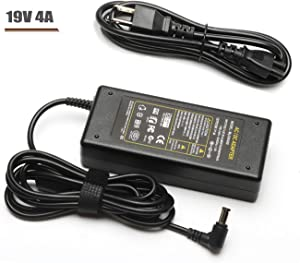 """19V LED TV HDTV Monitor Power Cord Charger for Samsung 32"""" Class J5205 J5003 22"""" H5000 UN32J4000AF UN32J4000AGXZD UN22H5000 UN32J4000 UN32J400DAF UN32J5205 BN44-00835A AC Adapter"""