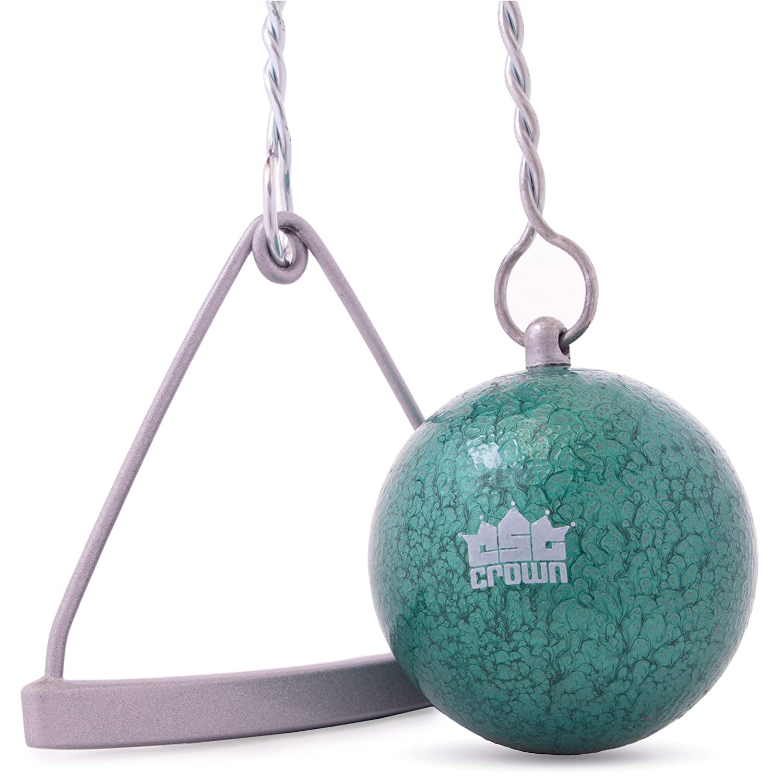Crown Sporting Goods 鋳鉄ハンマー & ワイヤー 3kg (6.6ポンド) | 陸上競技 練習 トレーニング | イントラミューラル 大学 高校競技品質 | ワイヤーとハンドル付き   B07LFJMQFD
