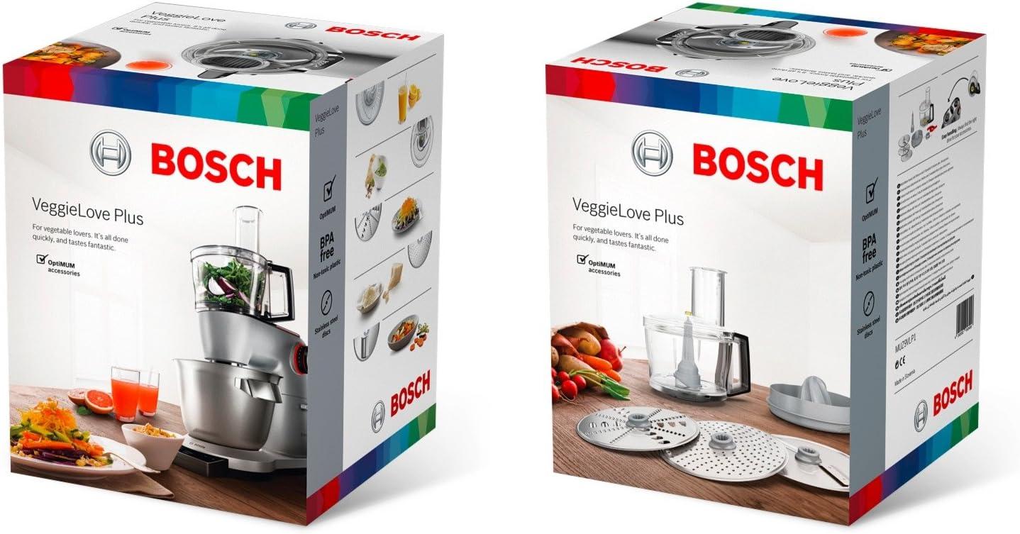 Bosch MUZ9VLP1 batidora y accesorio para mezclar alimentos - Accesorio procesador de alimentos (1,6 kg, 1,8 kg): Amazon.es: Hogar