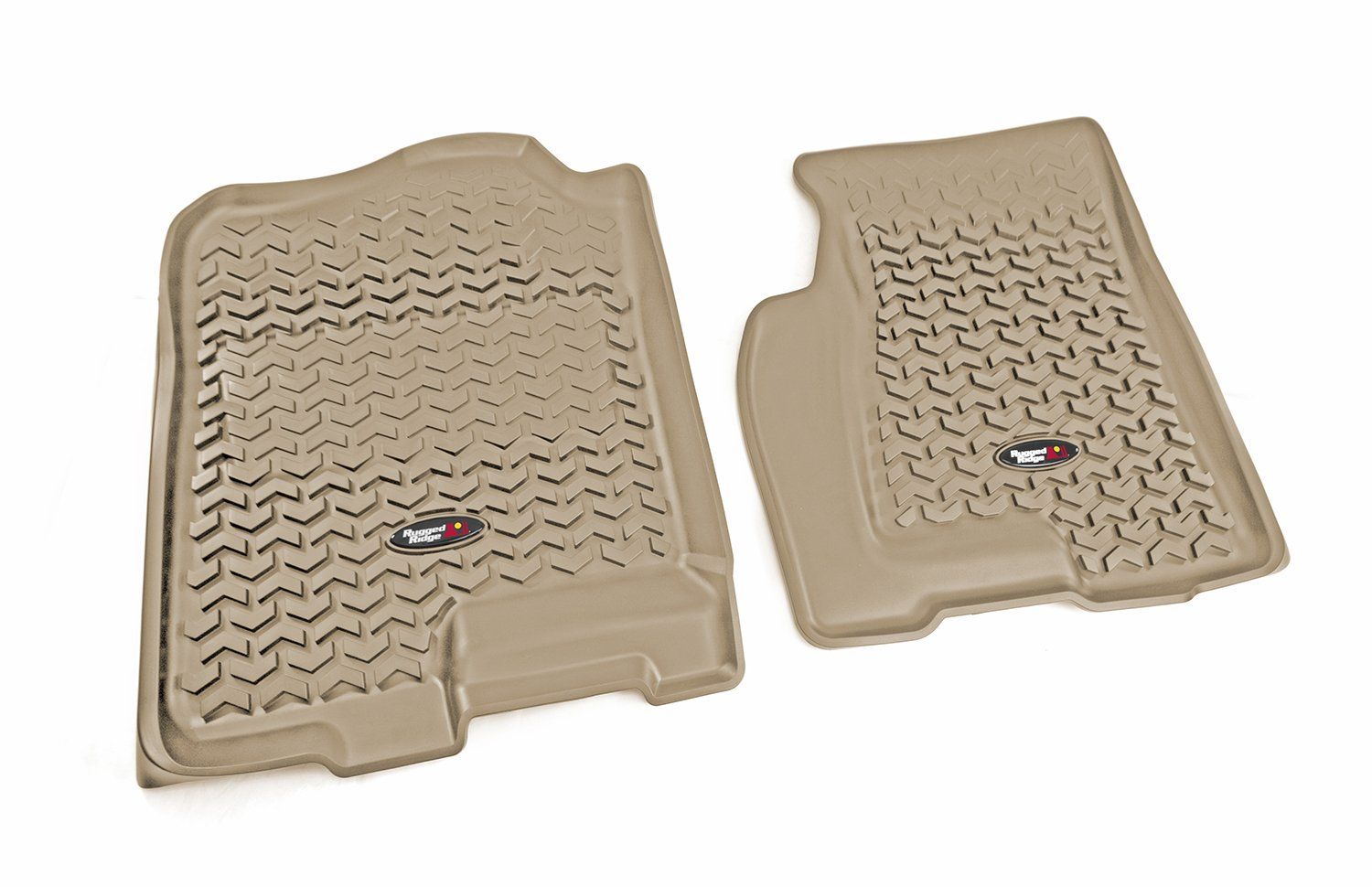 GMC Acadia and Saturn Outlook Models Chevrolet Traverse Rugged Ridge All-Terrain 83951.12 Tan Second Row Floor Liner For Select Buick Enclave