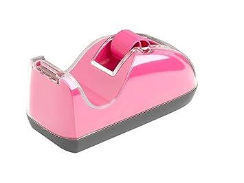 Rexel Joy - Dispensador de cinta, de plástico, color rosa: Amazon.es: Oficina y papelería
