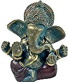 Tibet Mini Statues of Lord Ganesha Ganesh Hindu Gods and Goddesses - Hinduism by Bellaa