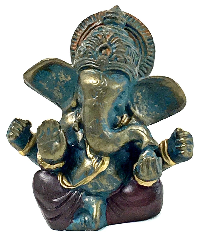 Amazon.com: Tíbet Mini Estatuas de Lord Ganesha Ganesh hindú ...