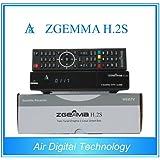 Ricevitore satellitare Zgemma H.2S Dual Core Tuner con EPG e IPTV