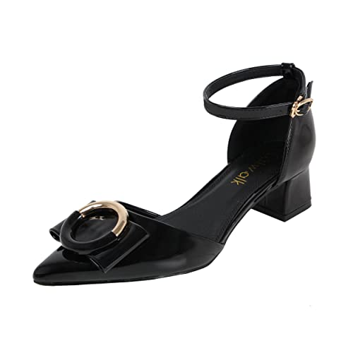 51ae17c64069 Catwalk Women s Black Synthetic Heeled Sandals -8  Buy Online at Low ...