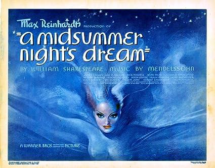 Amazon.com: Posterazzi A Midsummer Night'S Dream 1935 Movie ...