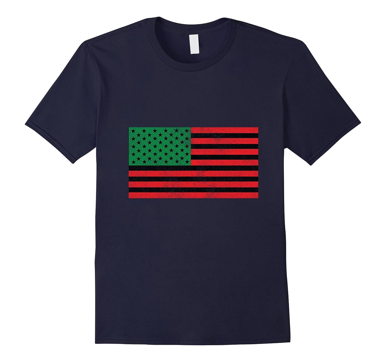African American Flag Tee Shirt-ANZ