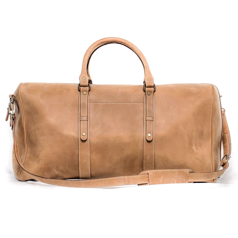 Xport Designs Carry On Bon Voyage Leather Duffel Bag - Men Travel Duffel Bag