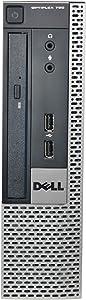 DELL 790 USFF, Core i5-2400S 2.5GHz, 4GB RAM, 500GB Hard Drive, DVD, Windows 10 Pro 64bit (Renewed)
