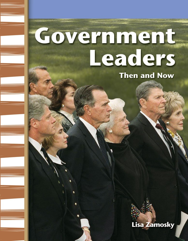 Download Government Leaders Then and Now: My Community Then and Now (Primary Source Readers) pdf