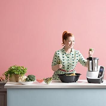 KLARSTEIN Food Circus Robot de Cocina multifunción (Olla al Vapor, 10 Funciones, fácil Control, Bol de 2 litros, sin BPA) - Gris: Amazon.es: Hogar