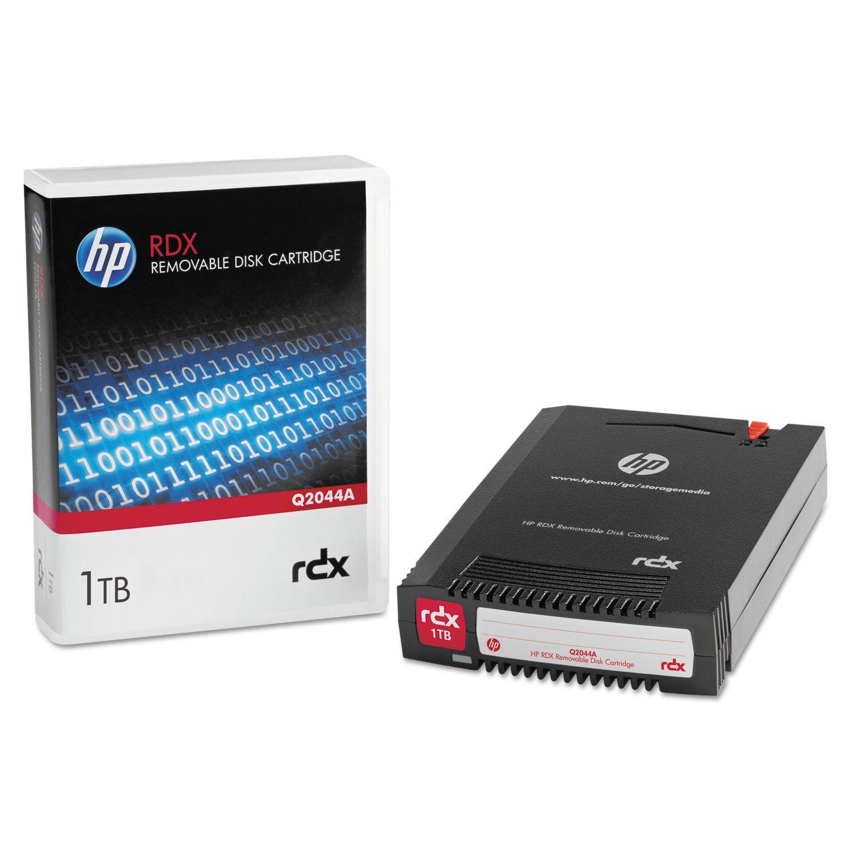 HP Q2044A RDX Cartridge, 1TB HEWLETT PACKARD COMPANY