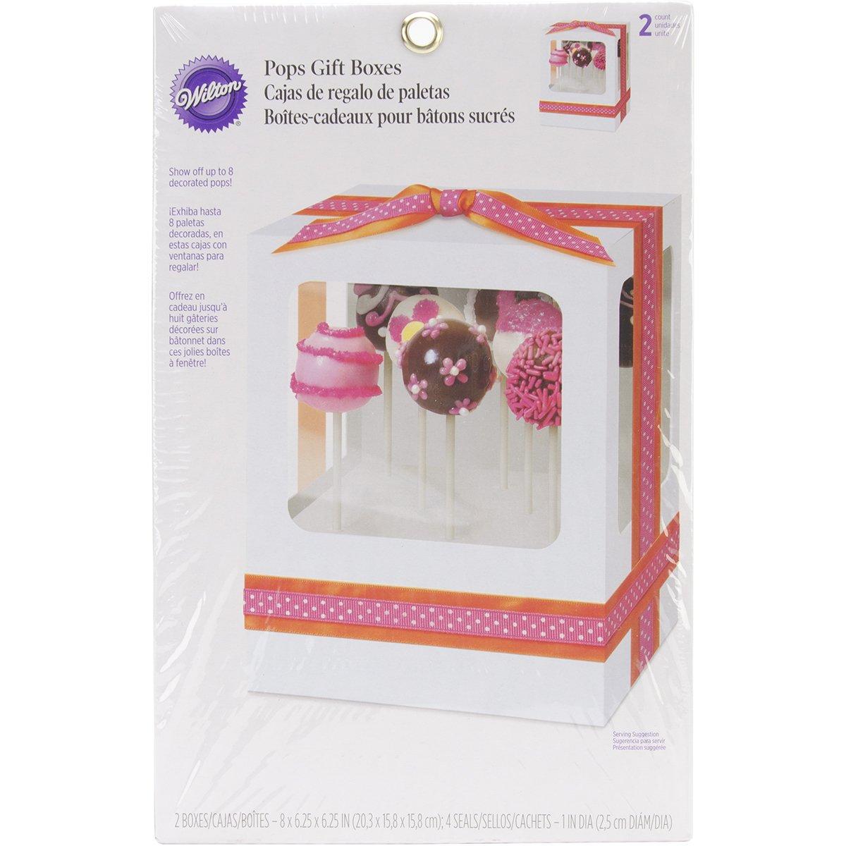 Amazon.com: Wilton 415-0577 12-Pack Valentine Single Pops Gift/Cake Box: Kitchen & Dining