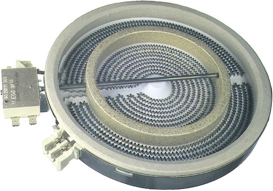 Ceranfeld Kochplatte Heizkörper Strahlheizkörper AEG Quelle Electrolux