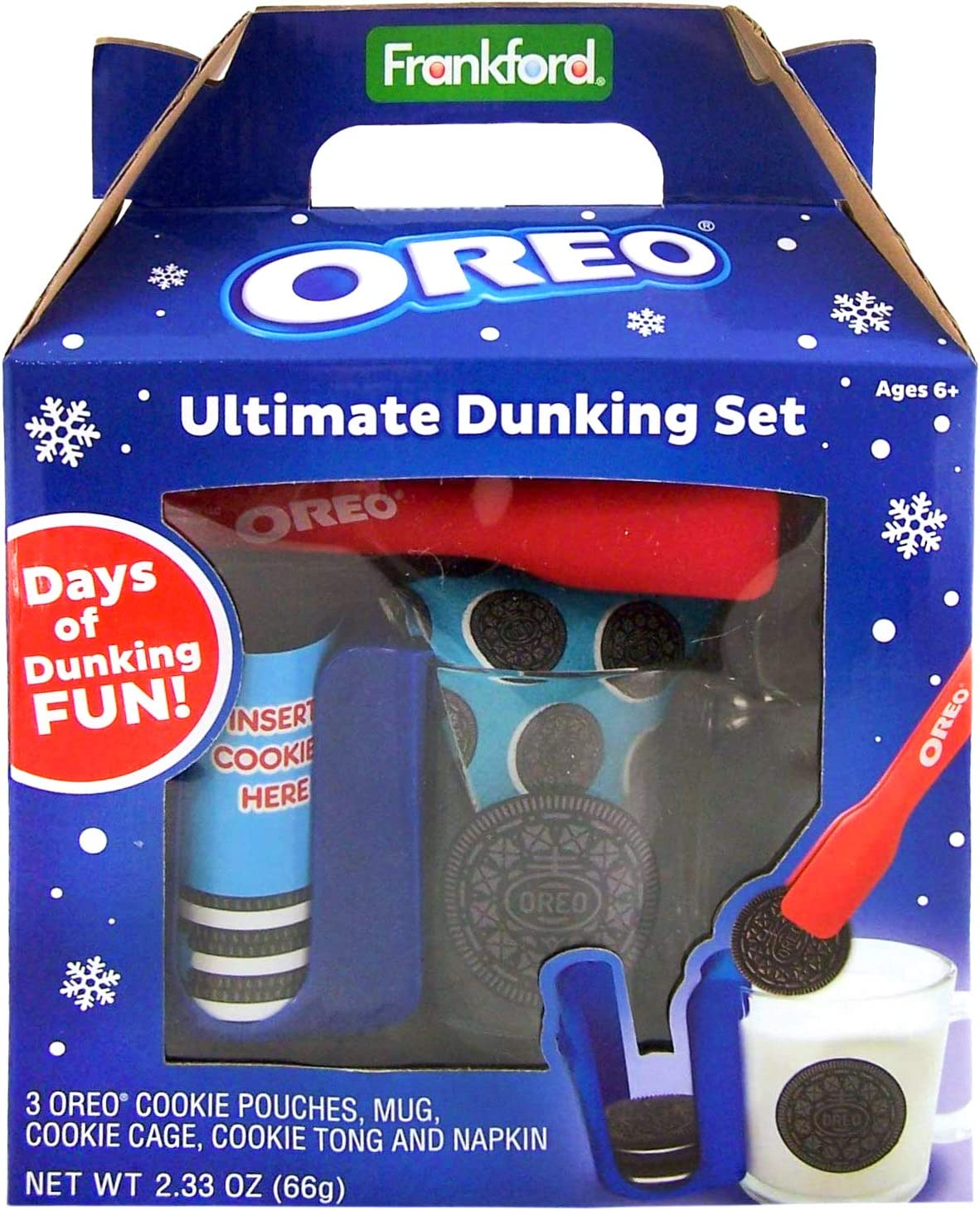Oreo Mug Ultimate Dunking Gift Set with Cookies, 2.33 oz
