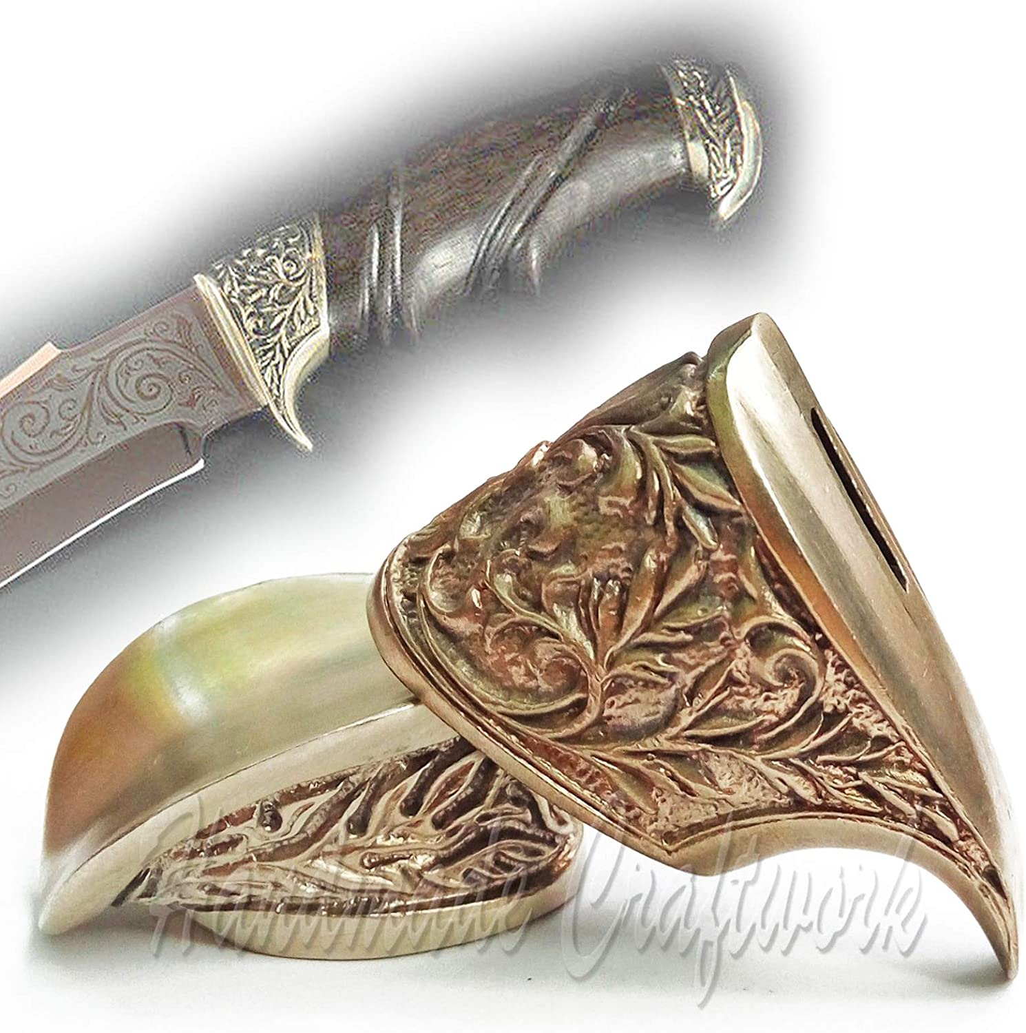CooB Knife Finger Guard Bolster Pommel Set. Amazing Hand-Casted Metal Knife Supplier Accessories for Custom Knives Handle Making. Great Collection of 45 Sets
