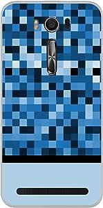 ColorKing Asus Zenfone 2 Laser ZE550KL Case Shell Cover - Pixels Multi Color