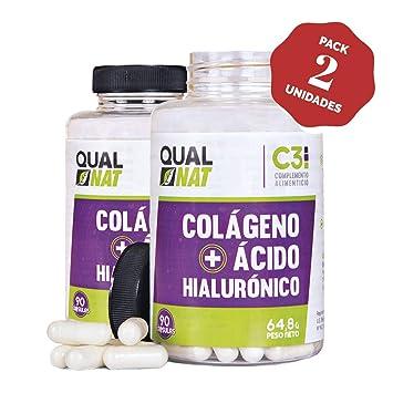 Colágeno con Ácido Hialurónico ✓️Vitamina C y Zinc ✓ Piel Radiante y Efecto Anti