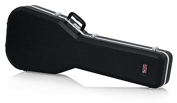 GATOR GC-SG - Estuche para guitarra de ABS (interior moldeado), color negro