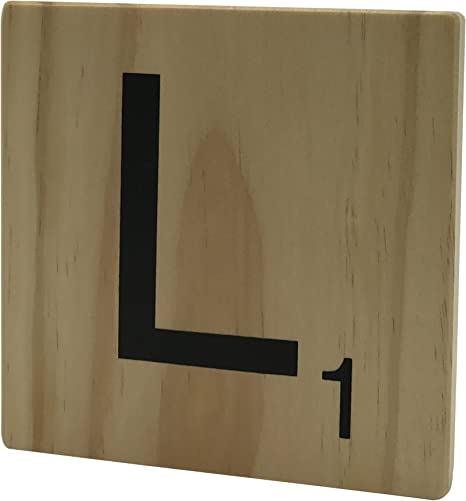 Original Way Scrabble Letra Decorativa L, Madera, Beige, 15x2x15 cm: Amazon.es: Hogar