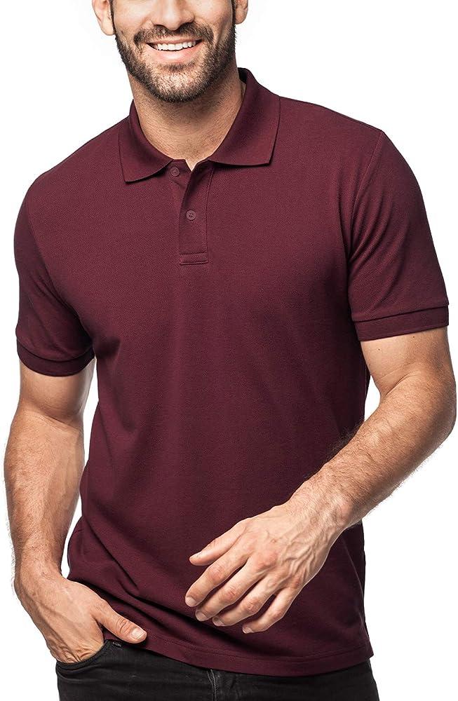 LAPASA Polo para Hombre de Manga Corta Camiseta Casual Talla ...