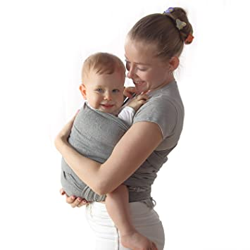 Amazon Com Baby Wrap Carrier Upsimples Breathable Baby Sling Wrap